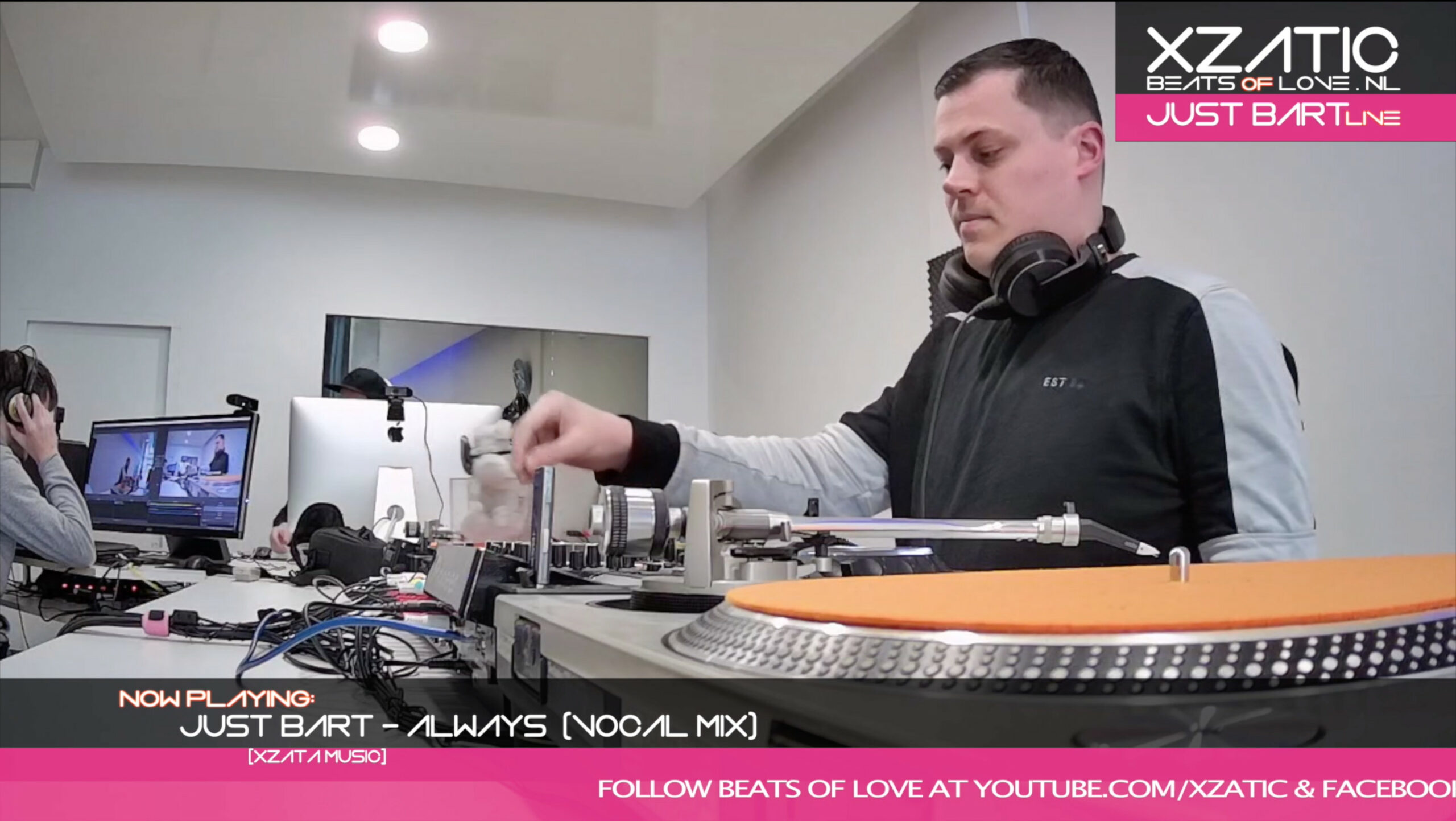 Xzatic presents Beats Of Love with Just bart